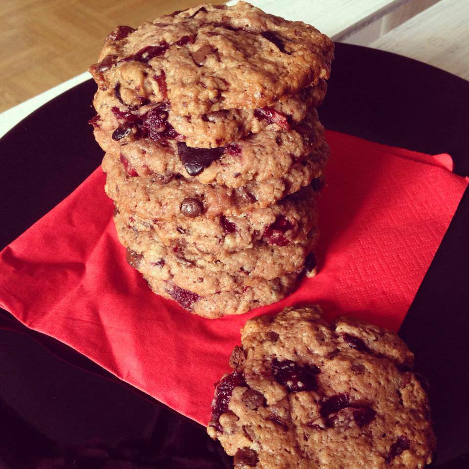 Chocolate-Cherry Cookies