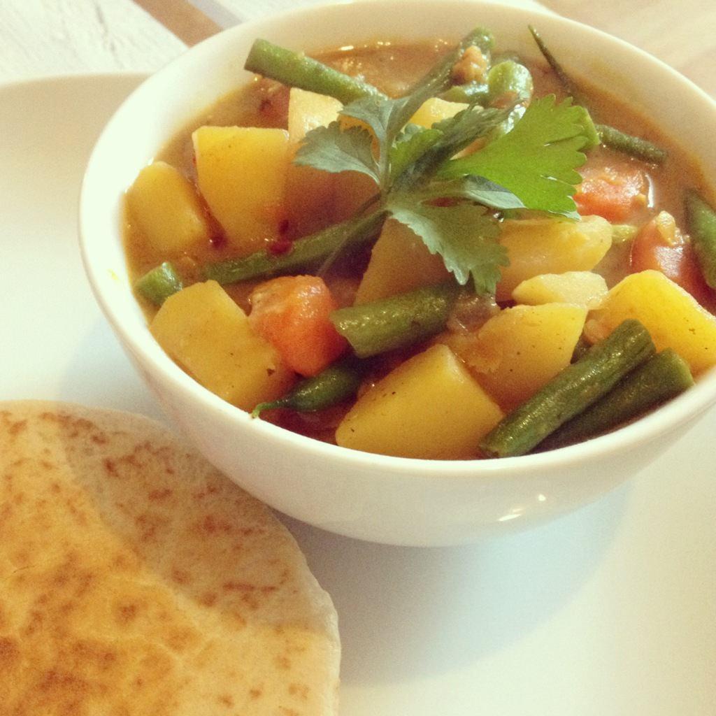 Cremiges Kartoffel-Linsen Curry