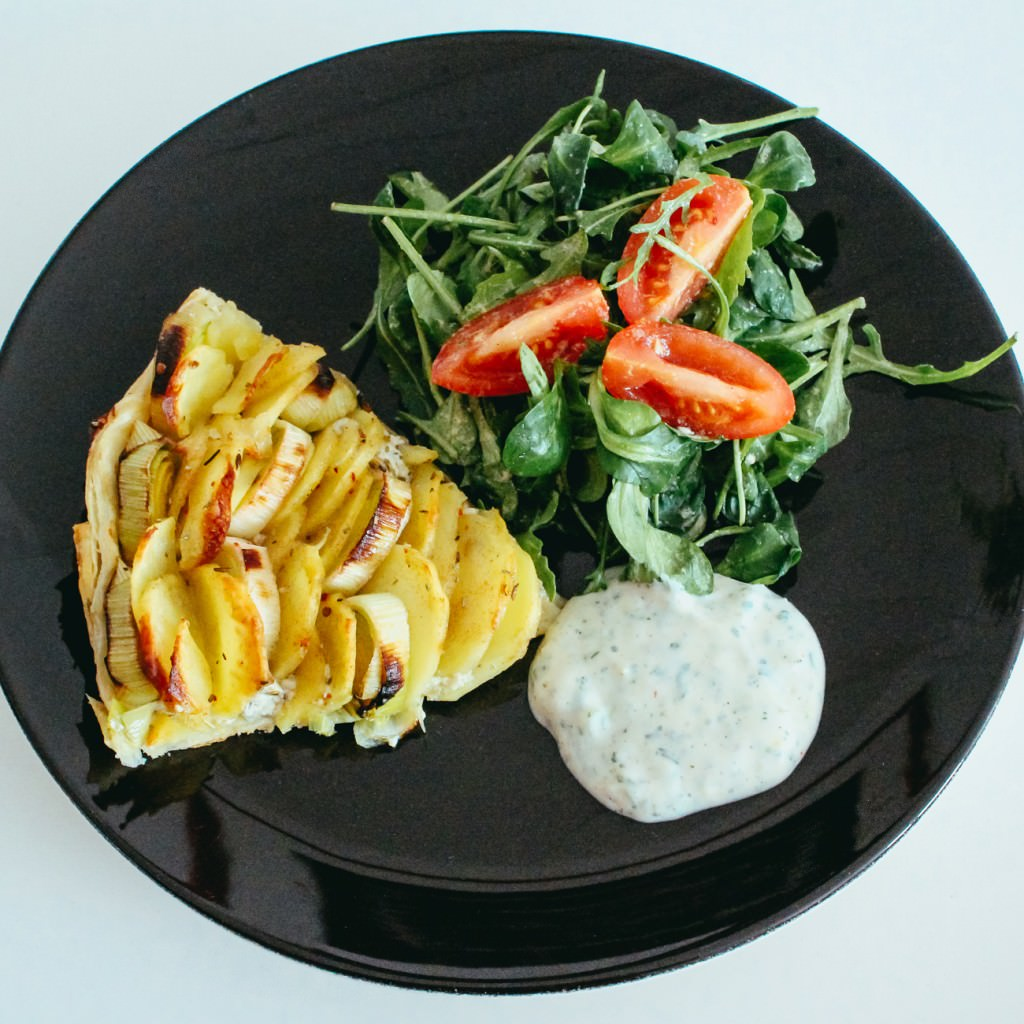 Kartoffel-Lauch Zwirbel