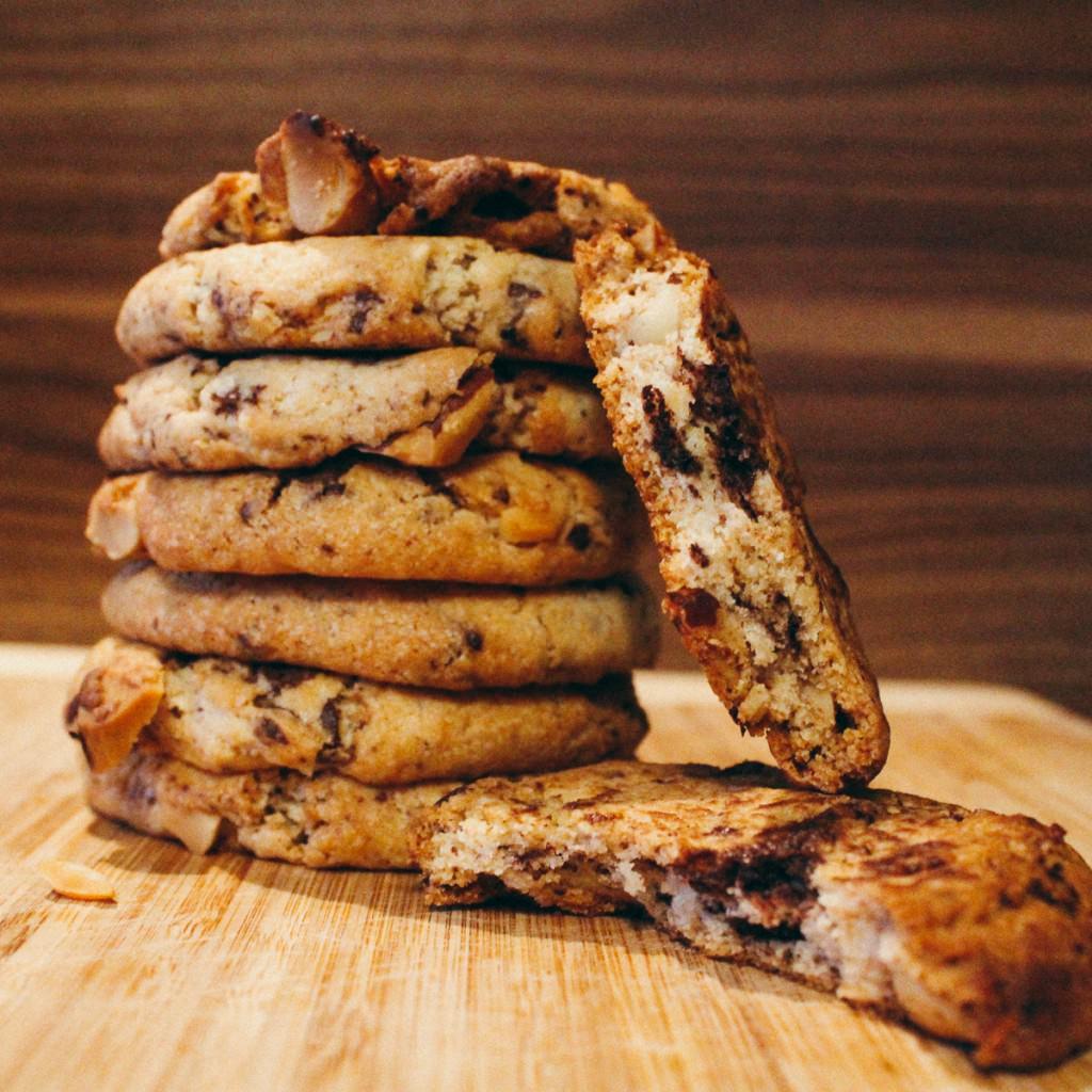 Paranuss-Schoko Cookies