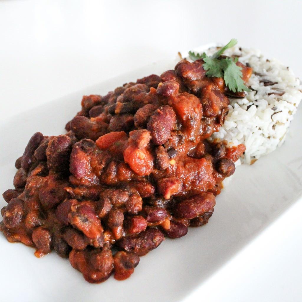 Indisches Bohnencurry
