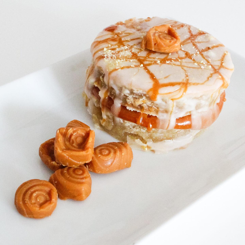 Kokoskaramell-Zitrönchen