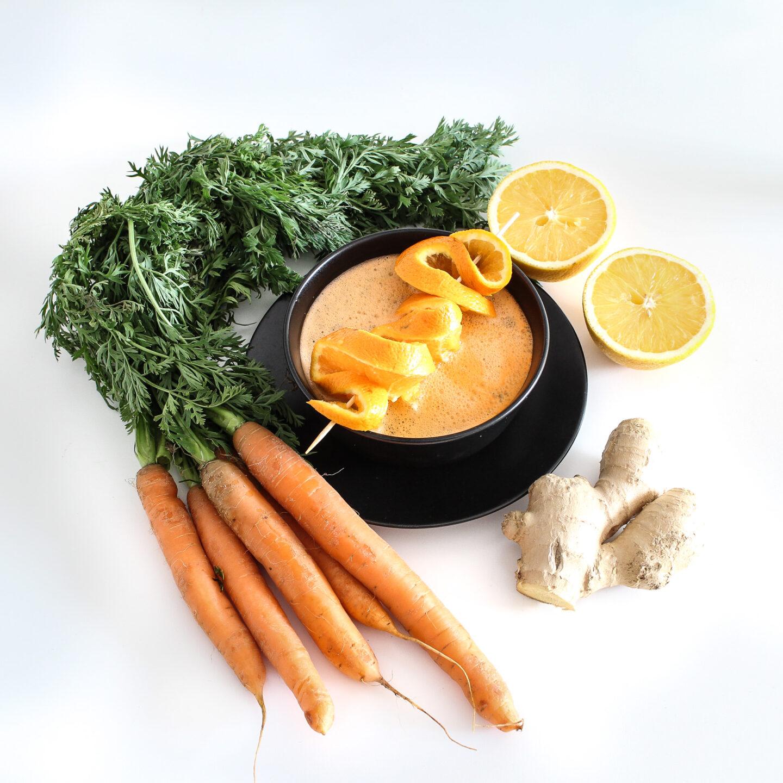 FroileinFux zeigt 5:1 – Karotten Gazpacho
