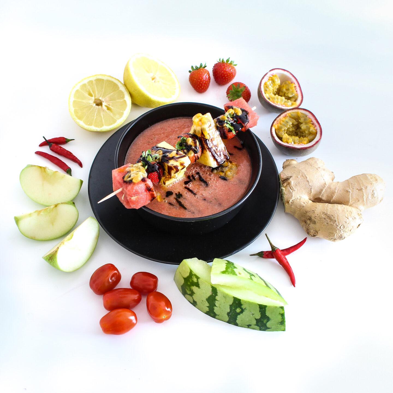 FroileinFux zeigt 5:1 – Melonen Gazpacho