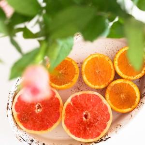 gebackene Grapefruit