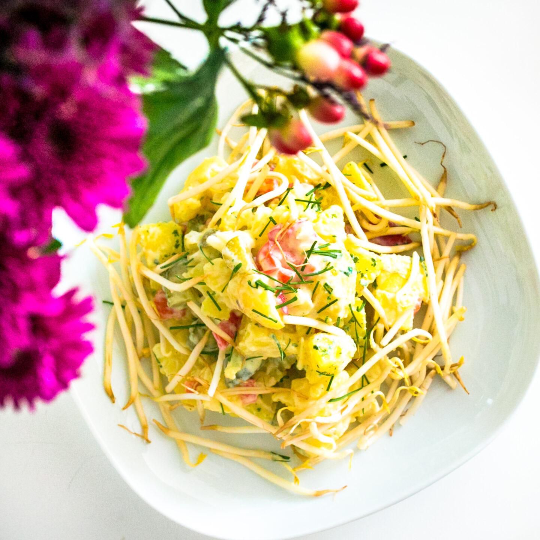 Pellkartoffelsalat alla Lili
