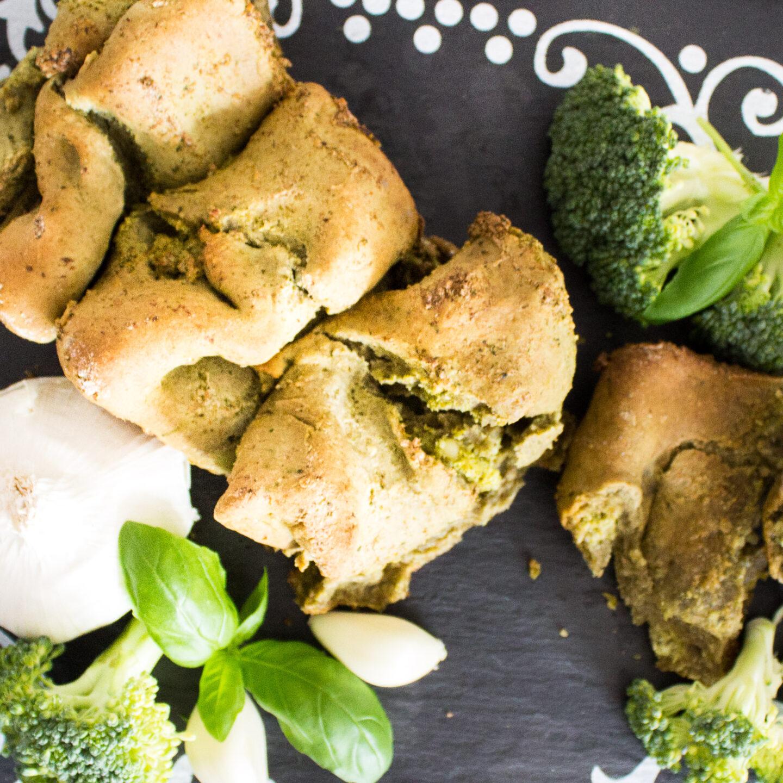 FroileinFux zeigt 5:1 – Zupfbrot mit Pesto