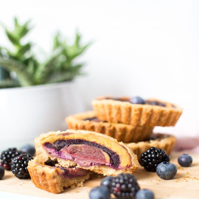 Fruchtiger Cheesecake