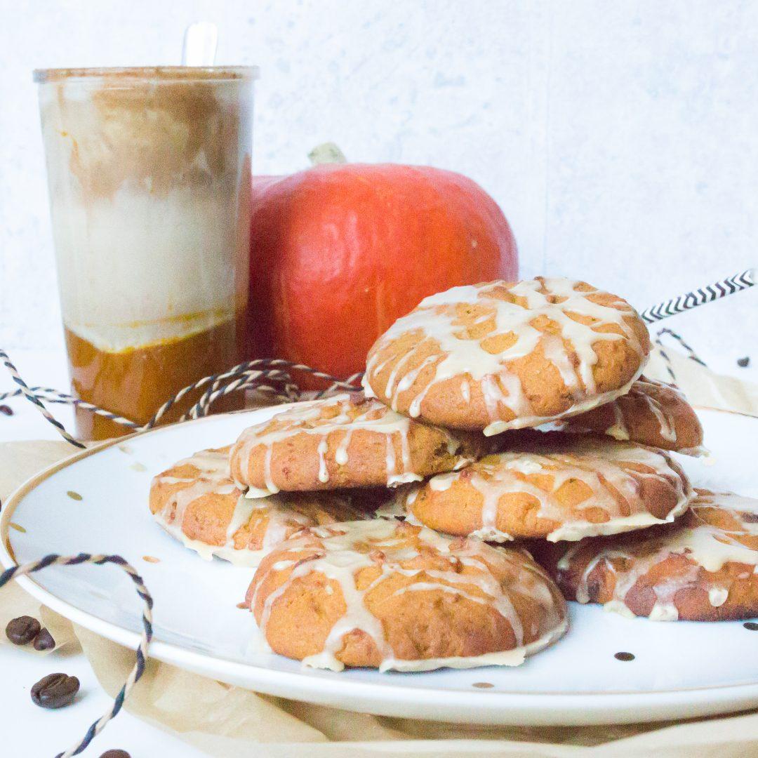 Cookies mit Kürbispüree