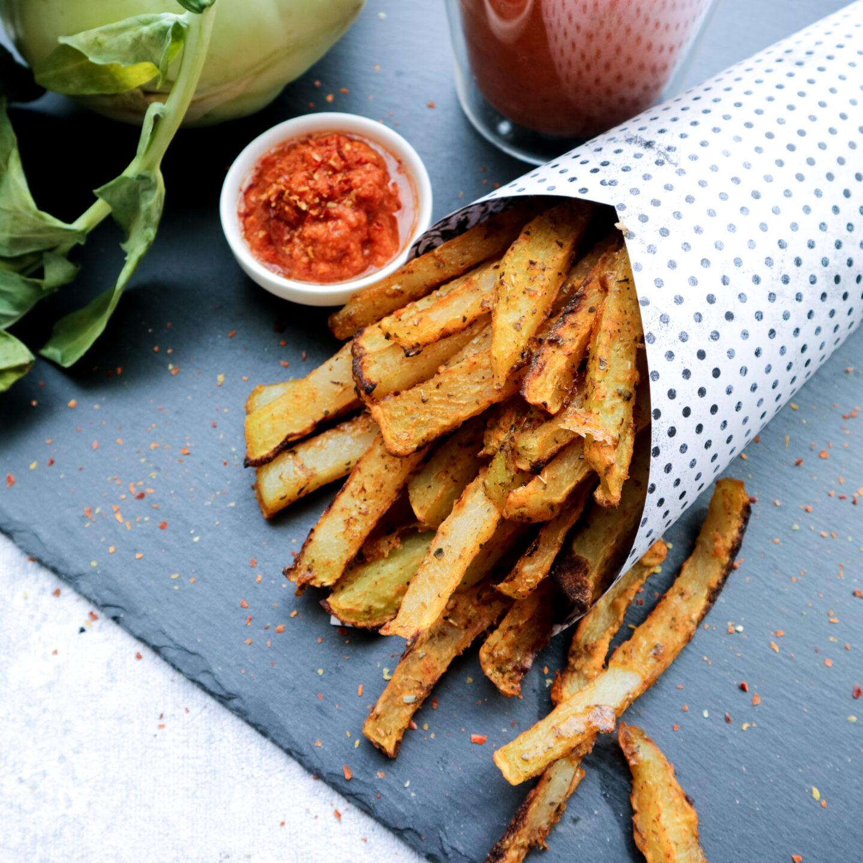 vegane Gemüsepommes