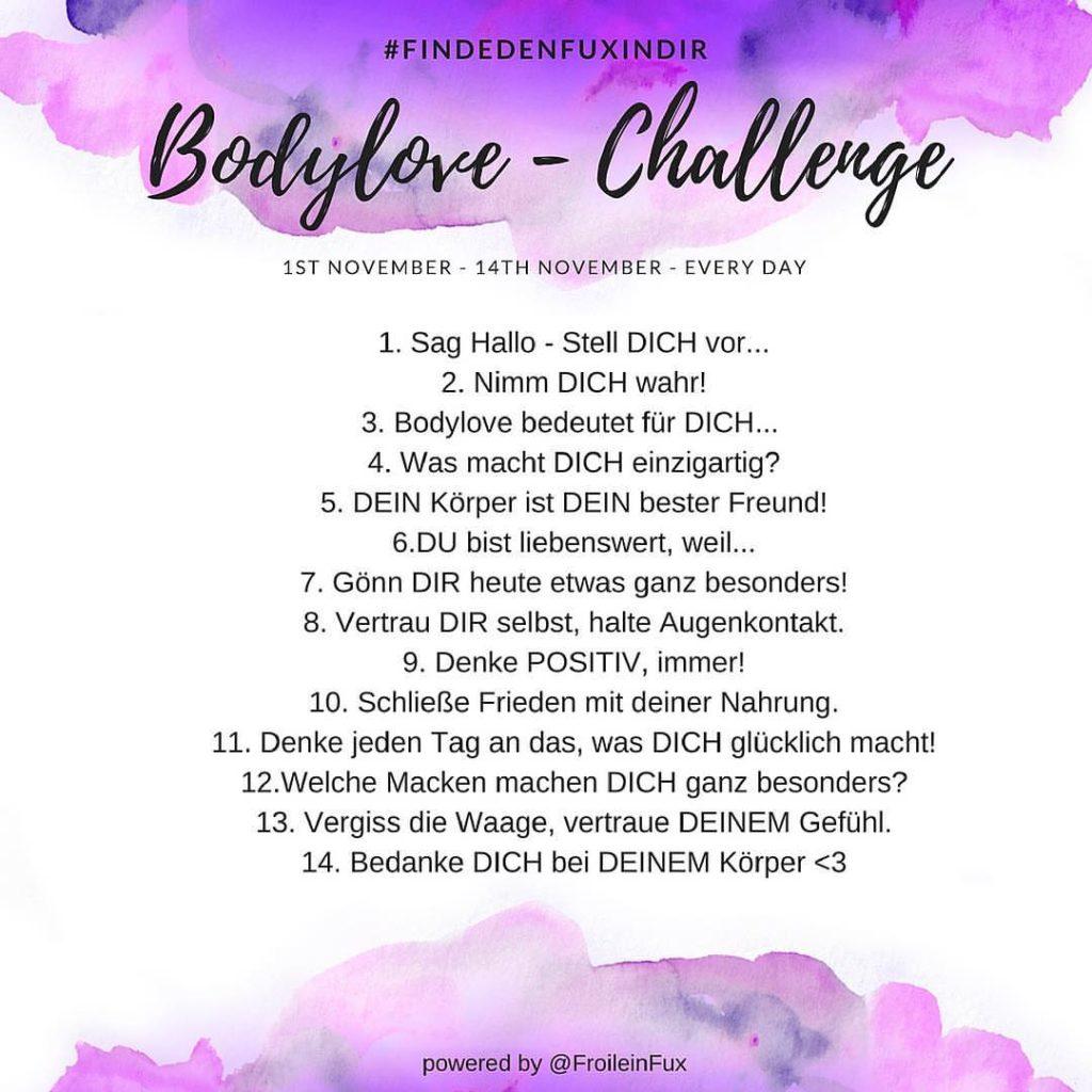Die Fragen der Selbstliebe-Challenge