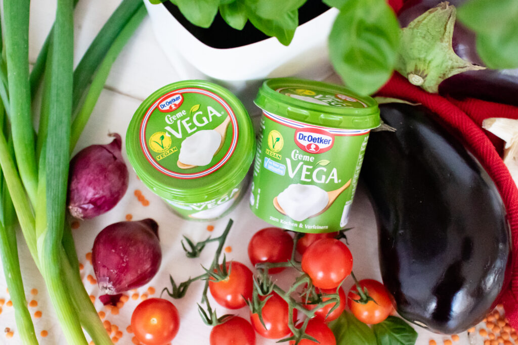 Creme Vega - vegane Creme Fraiche